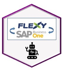 RPA (Bot) para integração SAP Business One com a plataforma de ecommerce Flexy